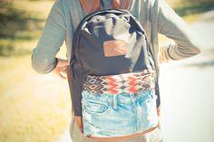 DIY: Backpack #diy #backpack #backtoschool #bag http://blog.callitspring.com/2013/09/26/diy-knapsack/