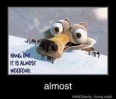 Hang on !