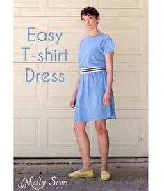 Tutorial: Easy t-shirt dress