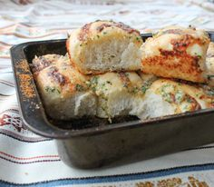Food Lust People Love: Cheesy Garlic Pull-Apart Buns #BreadBakers