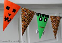 Duck Tape Halloween banner