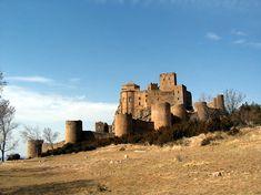 Castillo de Loarre - Vista exterior - Anexo:Patrimonio de la Humanidad en España - Wikipedia, la enciclopedia libre