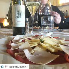 #Repost @locanda2camini  L'esperienza gourmet di degustare le #eccellenze del #trentino alla #Locanda2camini