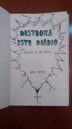 Destroza este diario/Wreck this journal #wreck #this #journal
