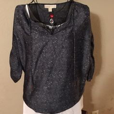 NWT Michael Kors snake print blouse size small Very nice New with tags Michael Kors snake print size small blouse. Never worn from smoke free home. MICHAEL Michael Kors Tops Blouses