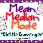 Provide each student with a small bag of Skittles, and let them show you what they know about mean, median, mode, and range! This is a very engaging activity that would be perfect for the end of a mean, median, mode, and range unit. Students begin working independently then work in groups to collect data. **Use this as an authentic Math assessment!