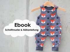 """Classic Strampler"" Baby-Strampler / Schnittmuster und Nähanleitung - Nähanleitungen bei Makerist"