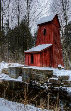 Winter @ Sheaves Tower, Blair Ontario | Flickr - Photo Sharing!
