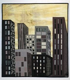 Art Quilts by Mietzi - Gallery of Artwork - Quilts Inspired by Buildings