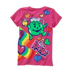Girls' Kool Aid Graphic Tee ($6) ❤ liked on Polyvore featuring tops