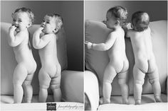Inspire: One Year Old Fraternal Twins Session by France Photography :: Inspire Me Baby