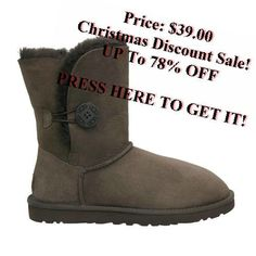 UGG Bailey Button 5803 Boots Chocolate
