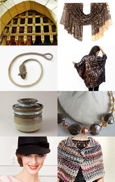 Textures in Brown by Lisa Gossman-Steeves on Etsy--Pinned with TreasuryPin.com