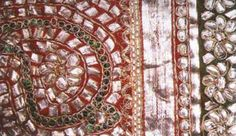 Gota work embroidery (lappe ka kaam) from Rajasthan