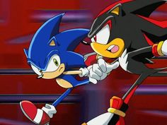 SHADOW AND SONIC !!!!!!!!!!!!!!!!!!!!!!!!!!!!