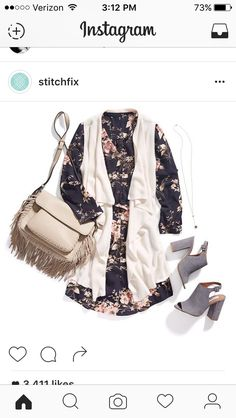 The shoes and dress are AWESOME! I can see myself wearing that vest as well. The bag.. not so much