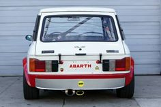 Learn more about Madness in Miniature: Streetable 1972 Autobianchi Abarth Racer on Bring a Trailer, the home of the best vintage and classic cars online. Rally Car, Car Car, Sport Cars, Race Cars, Fiat Cars, Fiat Abarth, Top Cars, Car Painting, Small Cars