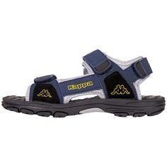 Der Sommer wird spitze: Ganz gleich, wie ausgelassen Deine kleinen Wildfänge herumtollen, die flotte Kinder-Sandale ANSWER II K von Kappa ist bestens darauf vorbereitet. Für den schnellen Einstieg gibt es zwei Klettverschlüsse, mit denen der Schuh jedem Kinderfuß individuell angepasst werden kann und somit guten Halt gewährleistet. Das Besondere: Diese Sandale ist nach dem Weiten-Maß-System WMS...