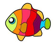 Resultado de imagen para dibujos de peces pintados
