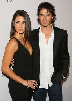Nikki Reed and Ian Somerhalder. The Humane Society Of The United States' To The Rescue Gala