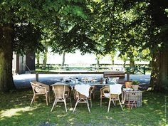 Nångång i mitten på juli när man hunnit bli lite lagom bortskämd med sol och bad, så känns en picknick i skuggan som den perfekta sommardagen.