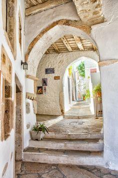Naxos Streets,Greece