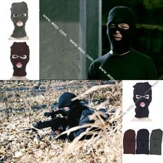 Mask Outdoor Three Hole Pullover hat Windproof Warm Wargame Tactical Headgear #eozy