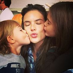 Alessandra Ambrosio is known for more than a few things: her amazing bikini body, her Victoria's Secret Angel wings, to name a couple. But if you follow her on social media, you know her proudest achievements are her two lovely kids. Anja Louise and Noah Phoenix are along for the ride every time their supermodel mom hits the beach, look adorable even when pouting, sport the cutest outfits, and have the sweetest smiles.