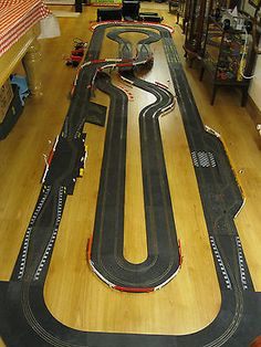 scalextric large layout