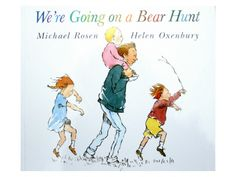 We're Going on a Bear Hunt by Michael Rosen review and related activities from damsonlane.com