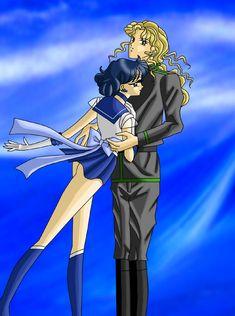Sailor Mercury and Zoicite by ~AmayaKouryuu on deviantART