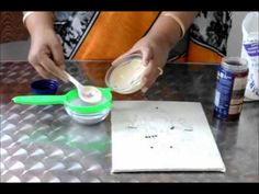 7 - Preparing Muck and Cone for the tanjore painting Mural Painting, Mural Art, Ceramic Painting, Diy Painting, Ceramic Art, Murals, Resin Art, Clay Art, Craft Tutorials
