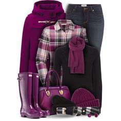 Hunter Boots by laurenjane47 on Polyvore featuring Jaeger, The North Face, Uniqlo, Paige Denim, Dasein, Kevin Jewelers, Burberry, Hunter, women's clothing and women's fashion