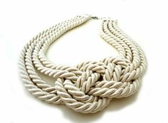 nautical necklace by sonia