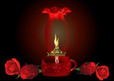 red rose and candle gif Bougie Gif, Image Bougie, Llama Violeta, Lost Love Spells, Love Spell Caster, Flickering Lights, Candle In The Wind, Network For Good, Glitter Graphics