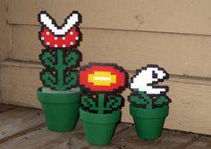 Set of 3 Mario Plants