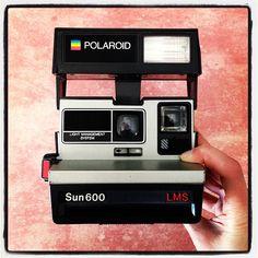 Vintage camera - Polaroid Sun 600 LMS