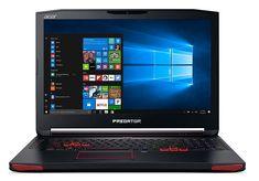 Acer Predator 17 Gaming Laptop, Core i7, GeForce GTX 1070, 17.3 Full HD G-SYNC, 16GB DDR4, 256GB SSD, 1TB HDD, G9-793-79V5