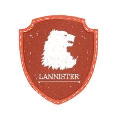 House Lannister Sigil - Maria Suarez Inclan