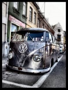Bare metal VW DC. I love that bare metal look.