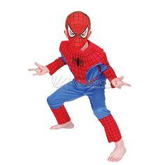 Disfraz Spiderman Musculoso De Eva