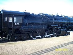 On August 8, 1963 #225 made her last journey and now serves as a historic monument to steam locomotives and the men who ran them, repaired them and loved them.