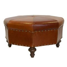 Octagon Ottoman now featured on Fab.