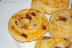 Chicken Bacon Ranch Pinwheels | In The Kitchen Where I Belong