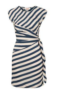 Louche Badger Stripe Dress - I want. I want. I want.