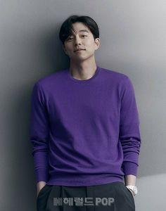 Yoo Gong, Instyle Magazine, News Media, Men Sweater, Korean, Turtle Neck, People, Mens Tops, Goblin