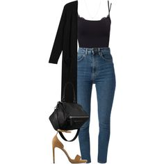 I have always hated that damn James Bond. I'd like to kill him. by quiche on Polyvore featuring polyvore fashion style Monki Yves Saint Laurent Pieces La Perla Givenchy ASOS