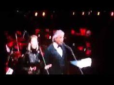 Andrea Bocelli & Delta Goodrem Rod Laver Arena Melbourne 21/09/2014