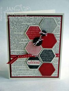 Six-Sided Sampler Controlfreaks Convention Swap by JanTInk - Cards and Paper Crafts at Splitcoaststampers