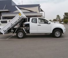 Isuzu D-Max Tipper Kit | Aluminium Auto Accessories | G.D. Gitsham Pty Ltd